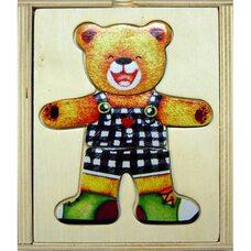 Игра «Поменяй одежду Медвежонку Ваське»