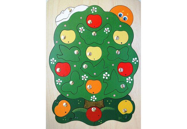 Магнитная мозаика «Яблоня-загадка»