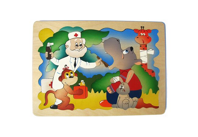 Мозаика «Айболит», 44 дет.