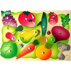 Магнитная мозаика «Во саду-ли в огороде»