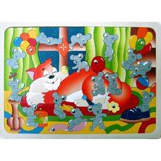 Магнитная мозаика «Мышиная охота»