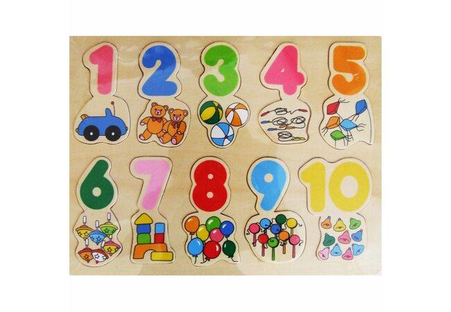 Цифры-картинки «Игрушки»