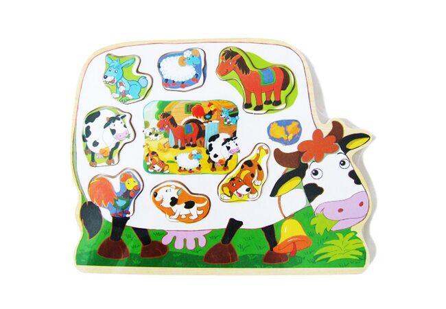 Рамка-вкладыш «Корова»