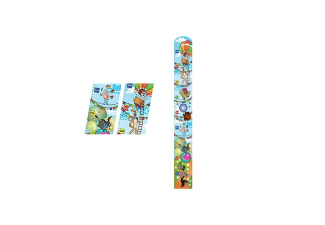 Детский ростомер «Праздник»
