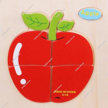 Apple (пазл для малышей)