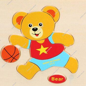 Bear (пазл детский)