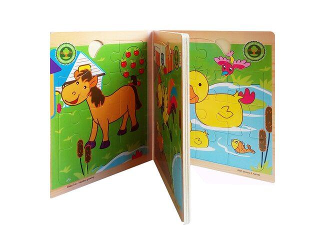 Книга-пазл «Ферма»