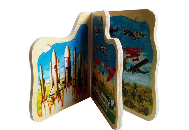 Книга-пазл «Боевые самолеты»