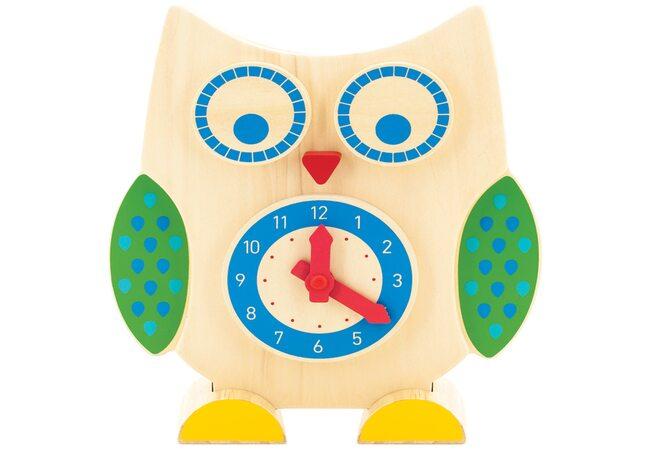 Часы-счеты «Сова»