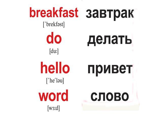 Мини-карточки «120 основных английских слов/120 main English words», 120