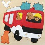Мозаика «Пожарная машина»