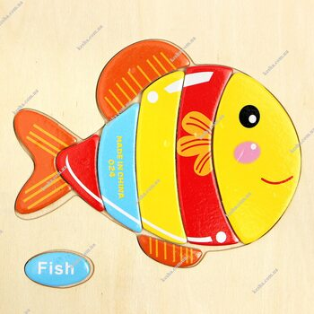 Fish-1, 8 дет.