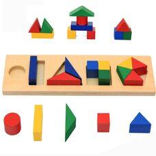 Игра «Дроби». Геометрические.