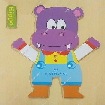 Hippo, 6 дет.