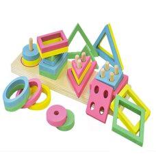 Игра «Геометрия», 4 фигуры