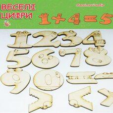 Набор магнитов «Цифры и знаки»