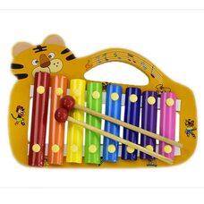 Ксилофон с ручкой «Тигр», 8 тонов