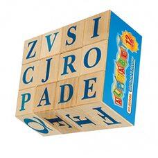 Кубики с буквами «Alphabet» (англ.), 12 шт.