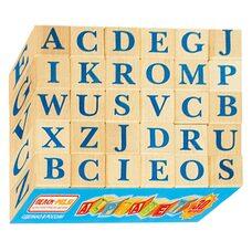 Кубики с буквами «Alphabet» (англ.), 30 шт.