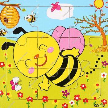 Пазл «Пчела», 9 дет.