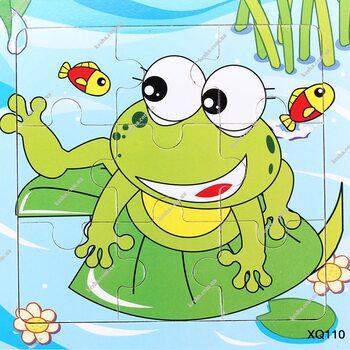 Пазл «Frog», 9 дет.