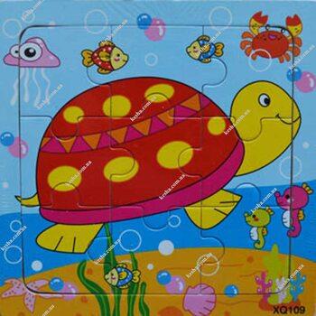 Пазл «Черепаха», 9 дет.