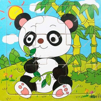 Пазл «Panda», 9 дет.