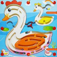 Магнитный лабиринт «Лебедь»