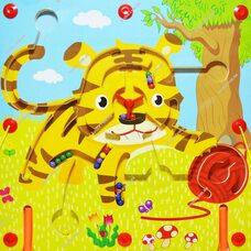 Магнитный лабиринт «Тигр»