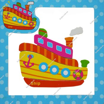 Магнитный пазл «Корабль»