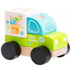 Машинка-пирамидка «Мороженое»