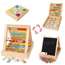 Математический набор со счетами и доской для рисования