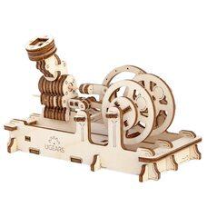Механическая 3D-модель «Пневматический двигатель», 81 дет.