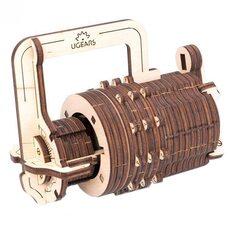 Механическая 3D-модель «Кодовый замок», 34 дет.
