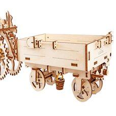 Механическая 3D-модель «Прицеп к трактору», 68 дет.