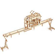 Механическая 3D-модель «Трамвай», 154 дет.