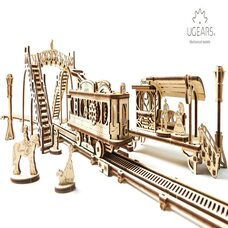 Механическая 3D-модель «Трамвайная линия», 284 дет.