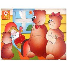 Мозаика «Маша и три медведя», 40 дет.