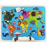 Мозаика «Карта мира», 82 дет.