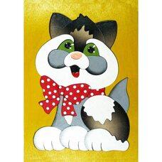 Мини мозаика «Котенок», 16 дет.