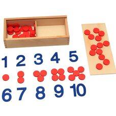 Игра «Цифры и кружочки»