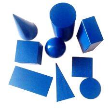 Набор геометрических фигур и тел (набор 1)