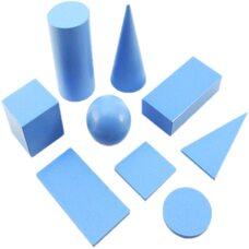 Набор геометрических фигур и тел (набор 2)
