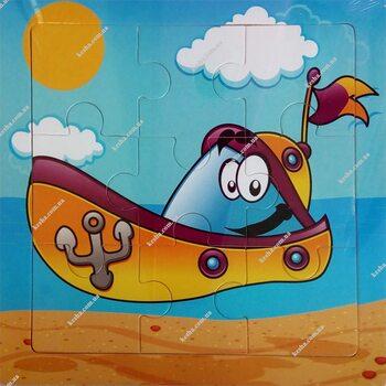 Пазл «Лодка», 9 дет.