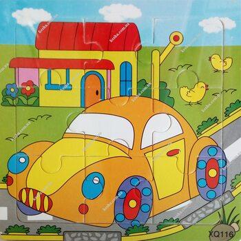 Пазл «Машинка», 9 дет.