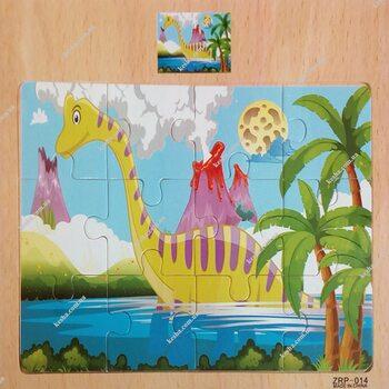 Пазл «Брахозавр», 12 дет.