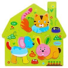 Пазл-Комби «Домашние животные»