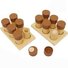 Коробочки с запахами Монтессори