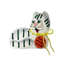 Плоская шнуровка «Кошка Мурка»