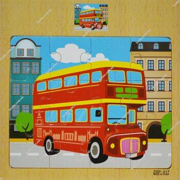 Пазл «Автобус», 12 дет.